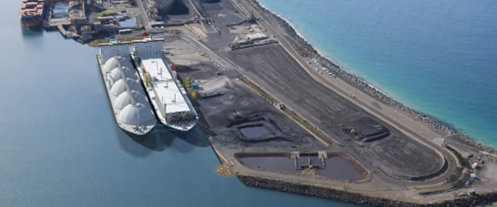 LNG port Kembla