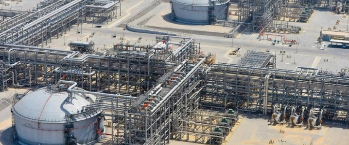 Aramco oil infrastructure