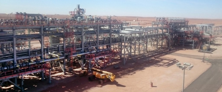 Algeria oil gas