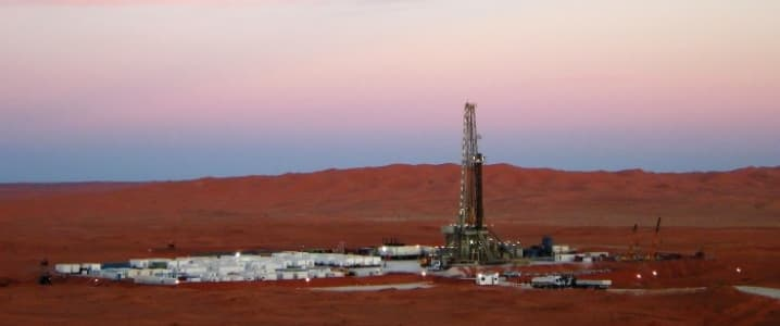 Oil Desert