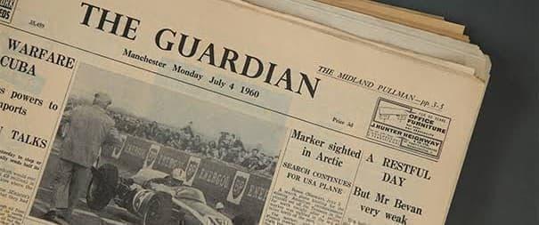 Guardian paper