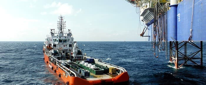 Petronas exploration vessel