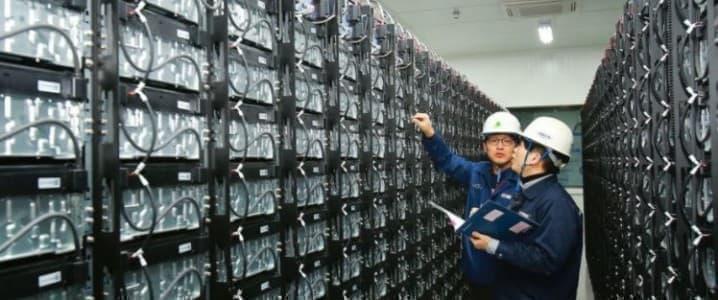 Korea battery