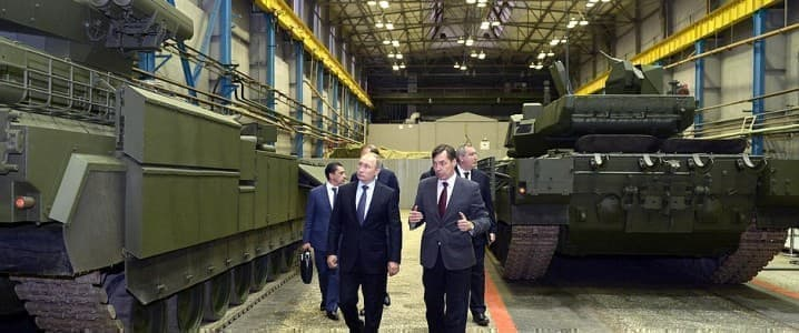 Putin Ural Vagon Zavod