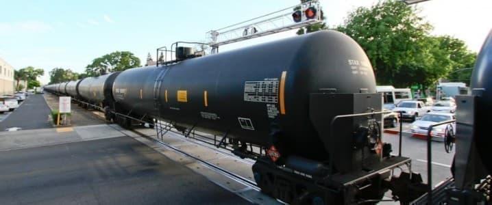 Crude by rail