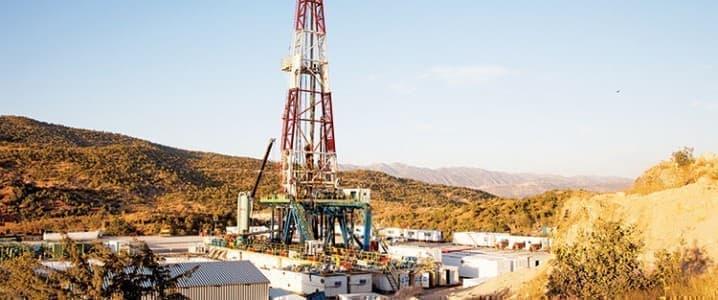 KRG oil rig