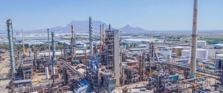 Refinery South africa