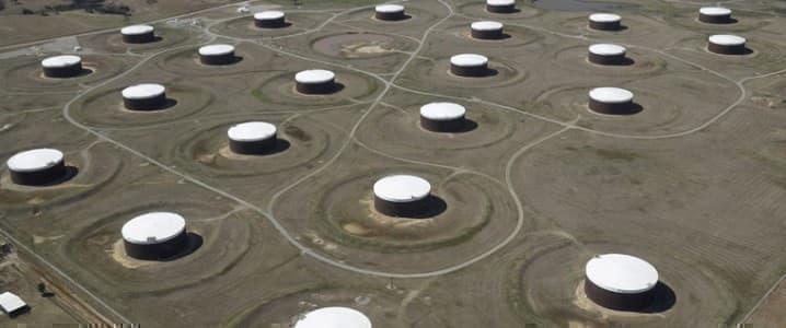 Crude storage