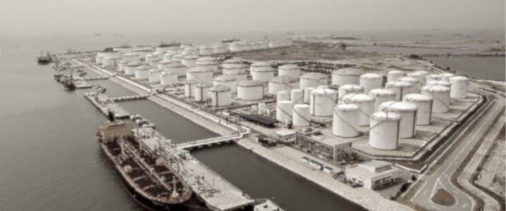 Iran oil terminal