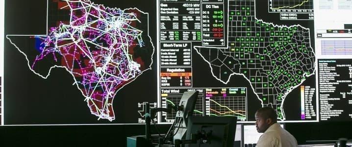 TX power grid