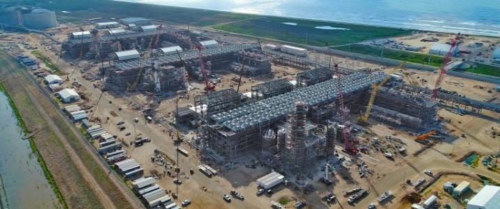 LNG freeport