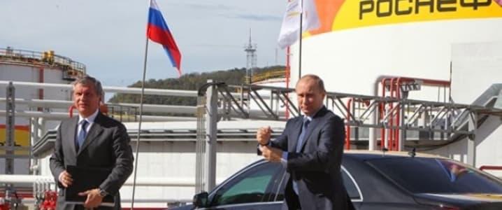 Putin Russia Oil