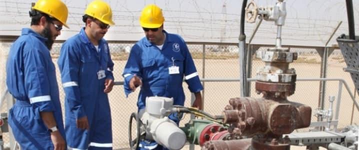 Kuwait oil field