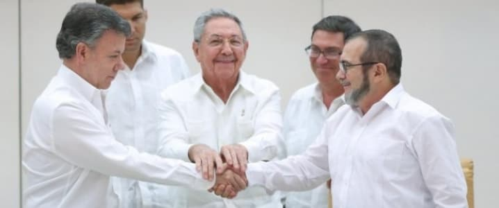 Colombian Govenment Farc peace