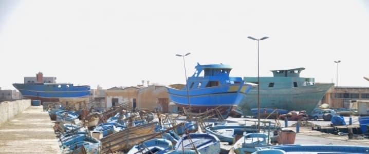 Zuwara Boats