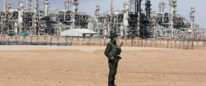 Algeria natural gas plant