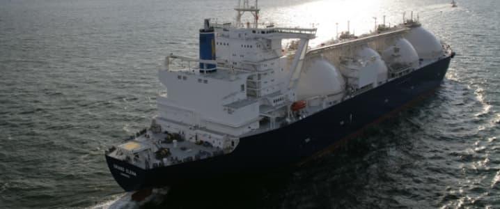 Gazprom vessel
