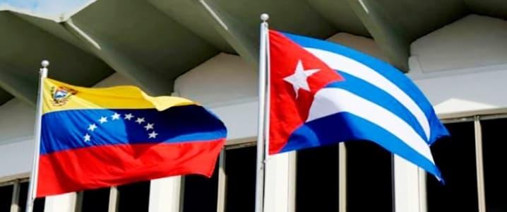 Venezuela Cuba Flag