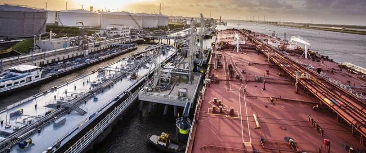 India oil port