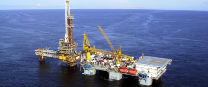Ghana offshore platform