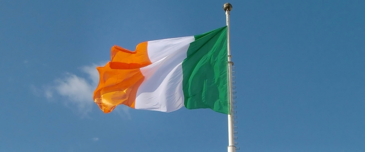 Irish flag picture