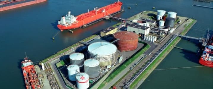 LNG storage facility