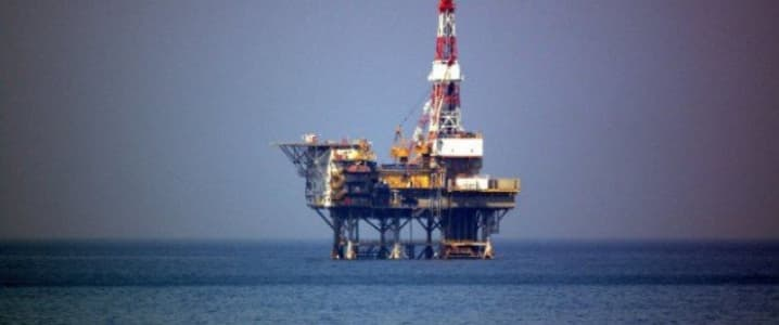 Chinese rig in North Korean waters
