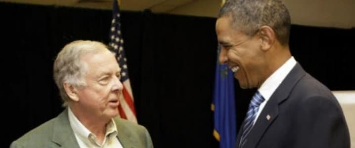 Boone Pickens Obama