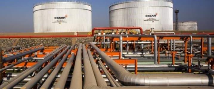 Essar Oil Refining Plant