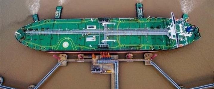 Tanker birdview