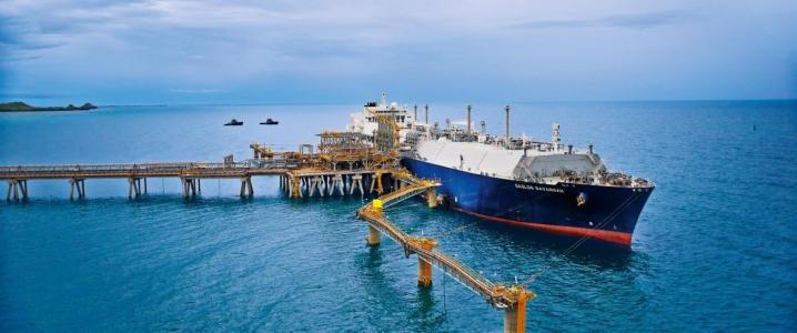 Papua LNG vessel