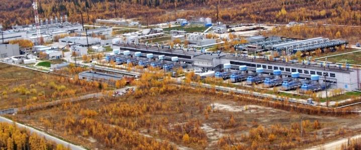Amur gas plant