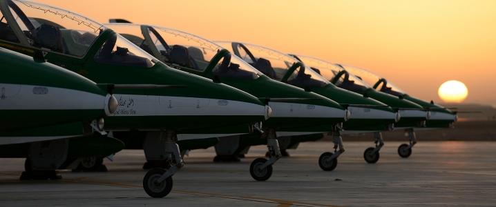Saudi fighters