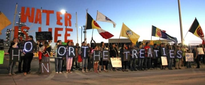 DAPL protestors
