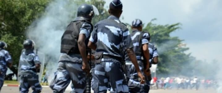 Gabon riots