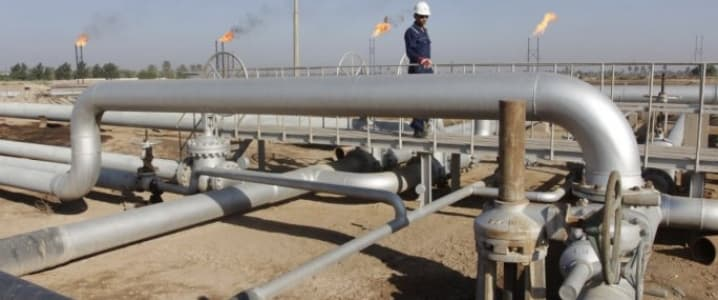 Basra oil field