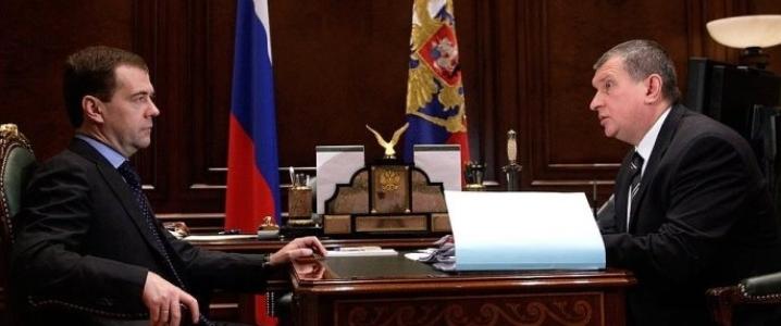 medvedev Sechin