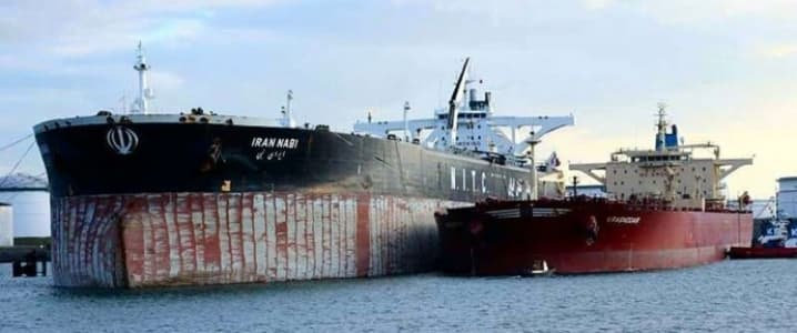 Iran oil tanker