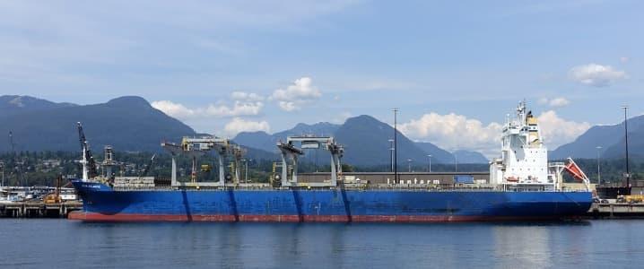 Vancouver oil tanker