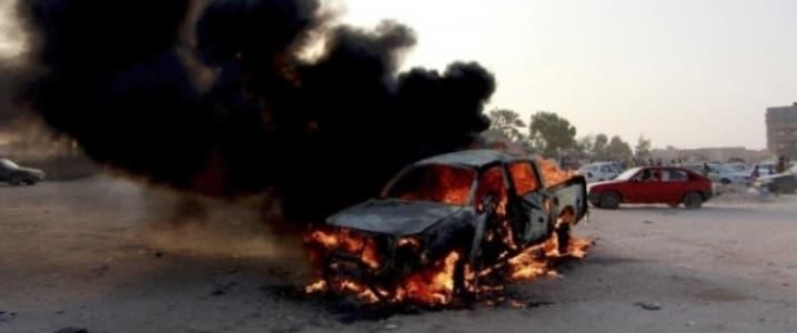 Benghazi car bomb