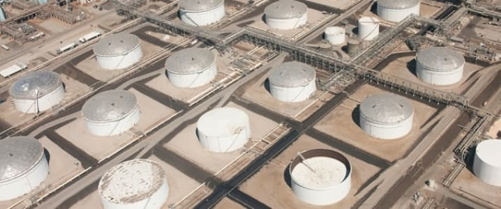 Oil storage facilities