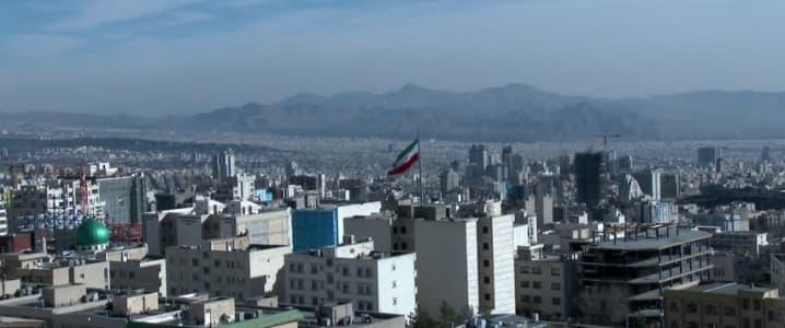 Tehran flag