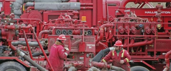Halliburton fracking