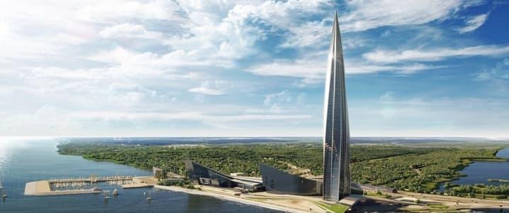 Gazprom Skyscraper