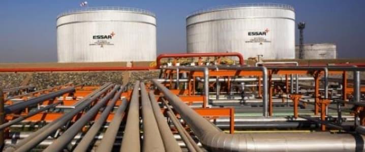 Essar oil storage