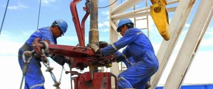 onshore drilling operation