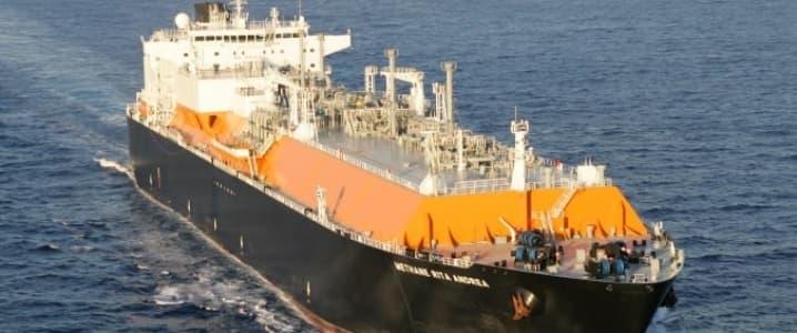 Methane vessel
