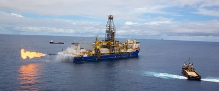 Exploration vessel Mozambique