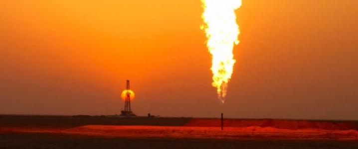 Iran oil field