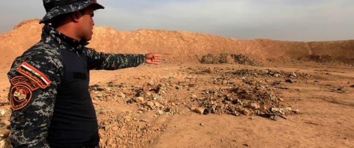 Iraqi Forces Find Mass Graves In Oil Wells Near Kirkuk